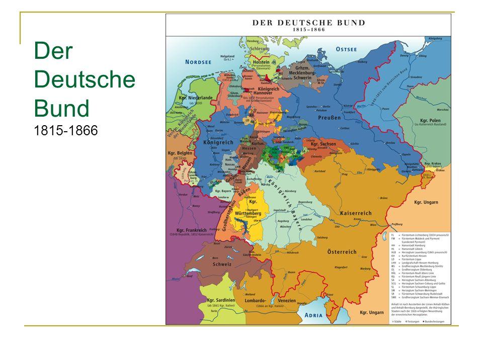 Der Deutsche Bund 1815-1866