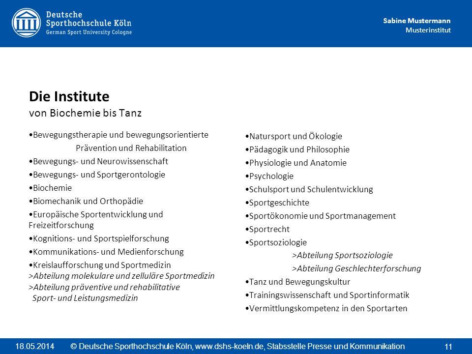 Sabine Mustermann Musterinstitut Bewegungstherapie und bewegungsorientierte Prävention und Rehabilitation Bewegungs- und Neurowissenschaft Bewegungs-