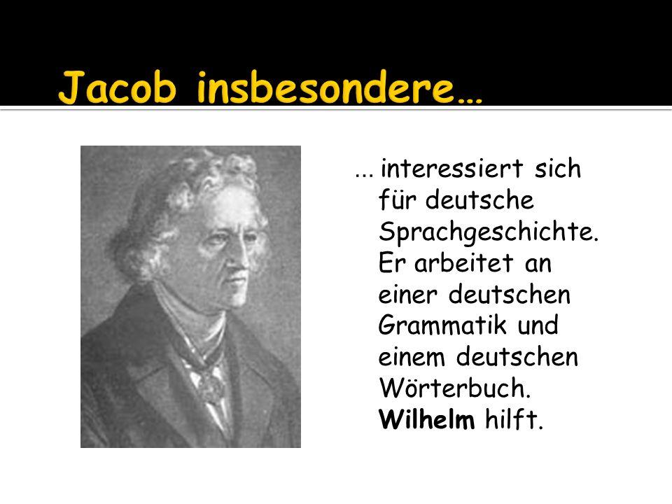 … interessiert sich für deutsche Sprachgeschichte.