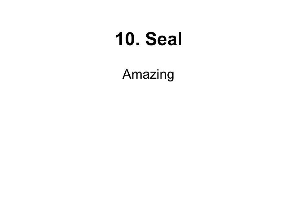 10. Seal Amazing