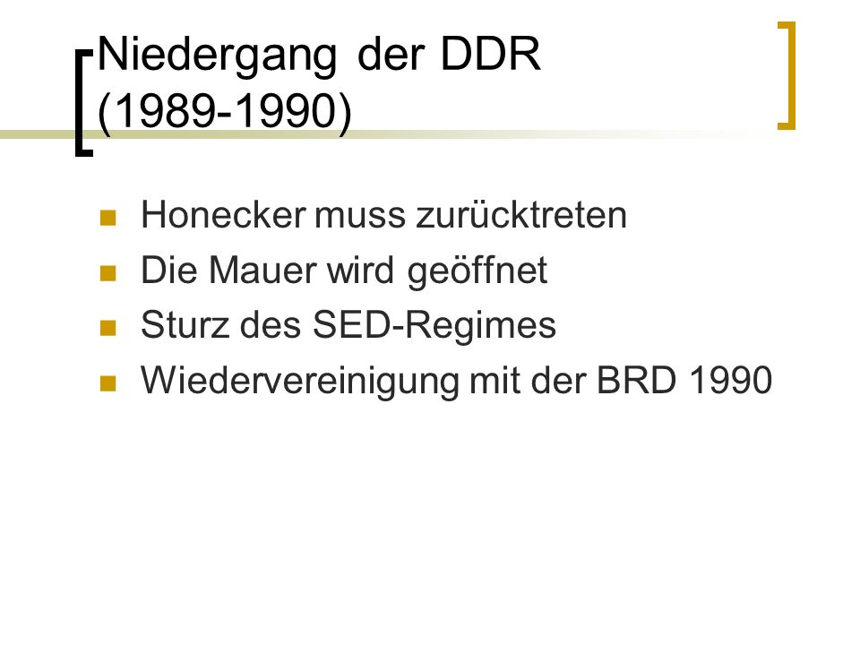 Das wiedervereinte Deutschland Helmut Kohl wird Bundeskanzler 1992 Maastricht Verträge – Gründung der EU