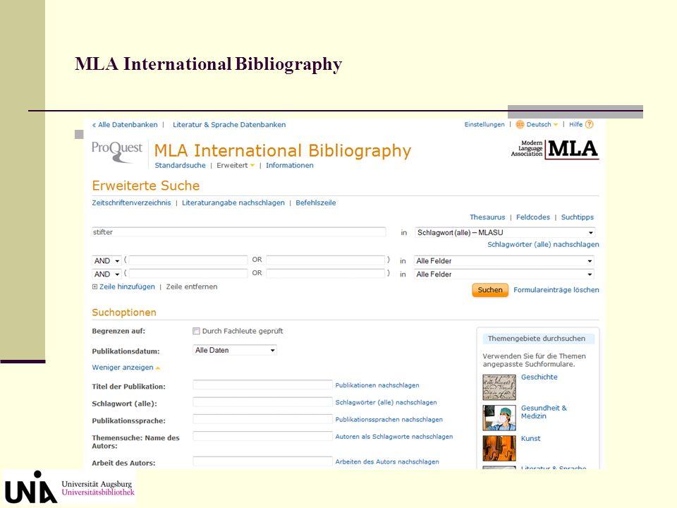 Bibliographie der deutschen Sprach- und Literaturwissenschaft (BDSL) Einzeltreffer