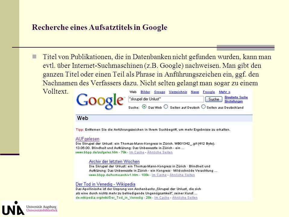 Elektronisches Nachschlagewerk: Verfasser-Datenbank
