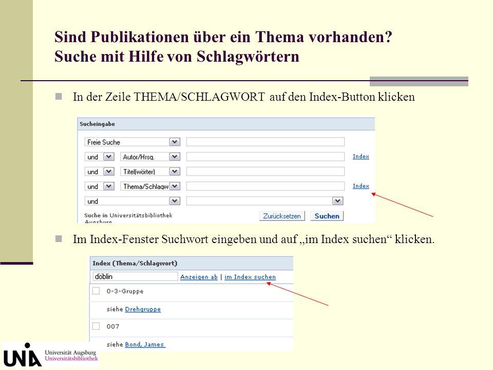 Aufruf elektronischer Volltexte aus dem OPAC Gekauftes E-Book