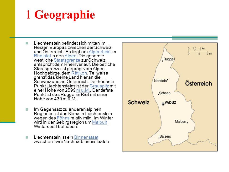 2 Bevölkerung 2.1 Herkunft Weniger als zwei Drittel der Bevölkerung (65,8%) sind gebürtige Liechtensteiner; die ausländische Bevölkerung kommt mit 20,1% überwiegend aus dem deutschen Sprachraum (10,8% Schweizer, 5,9% Österreicher und 3,4% Deutsche), gefolgt von Italienern (3,3%), Einwohnern des früheren Jugoslawien (3,3%), Türken (2,6%) und anderen (4,8%).