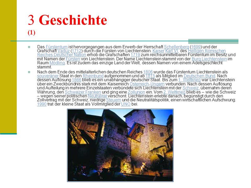 (2) Seit dem 1.Mai 1995 ist Liechtenstein Mitglied des Europäischen Wirtschaftsraums (EWR).