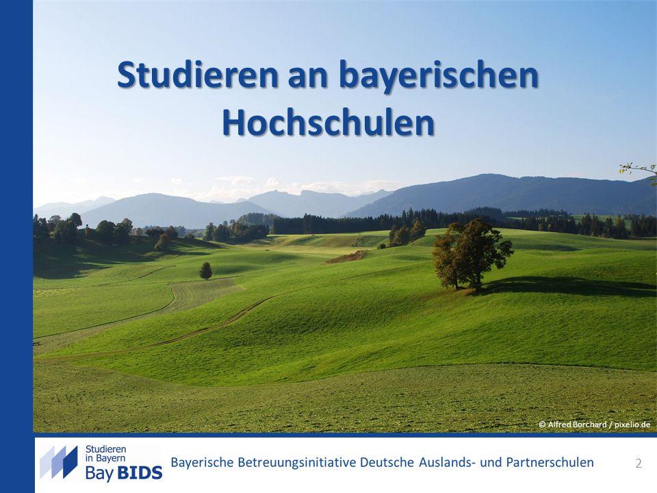 Studieren an bayerischen Hochschulen 2 © Alfred Borchard / pixelio.de