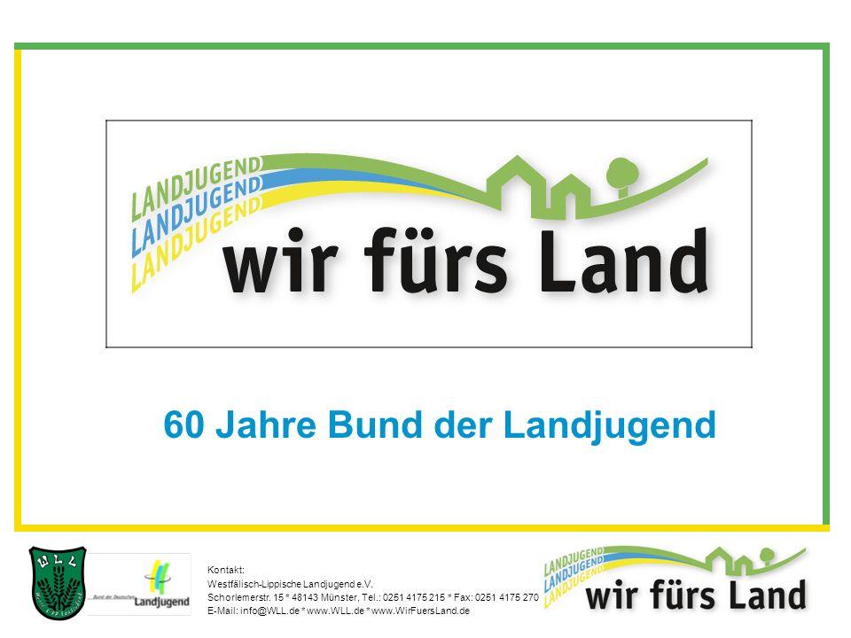 Kontakt: Westfälisch-Lippische Landjugend e.V. Schorlemerstr.