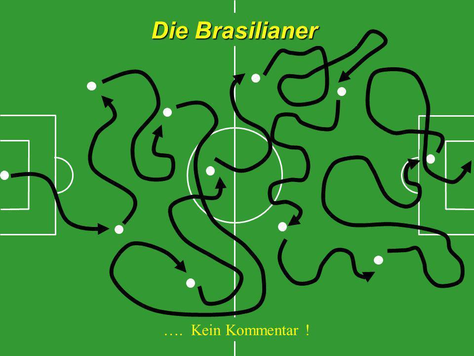 Die Brasilianer …. Kein Kommentar !