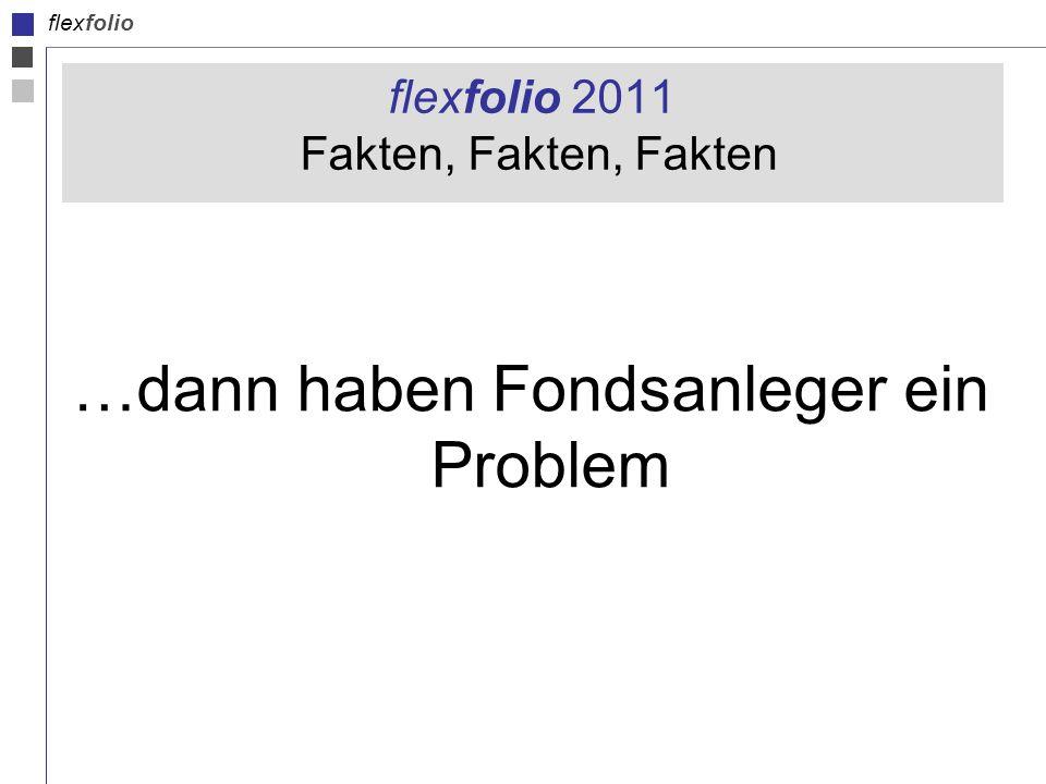 flexfolio flexfolio 2011 Fakten, Fakten, Fakten …dann haben Fondsanleger ein Problem