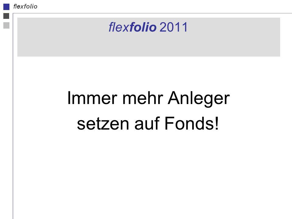 flexfolio flexfolio 2011 Immer mehr Anleger setzen auf Fonds!