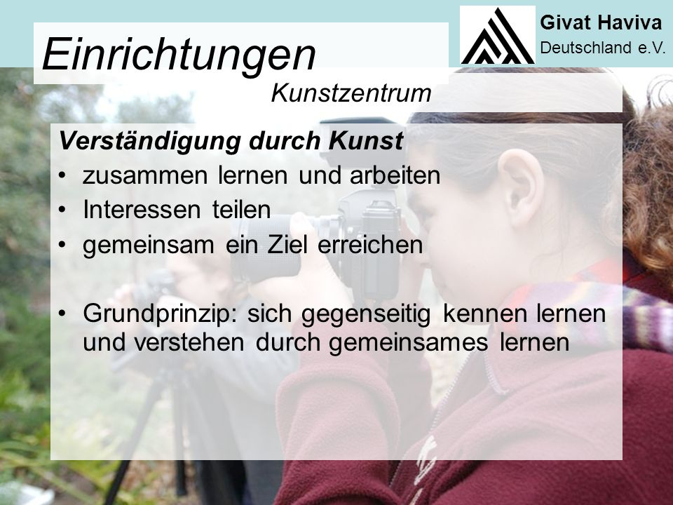 Givat Haviva Deutschland e.V.