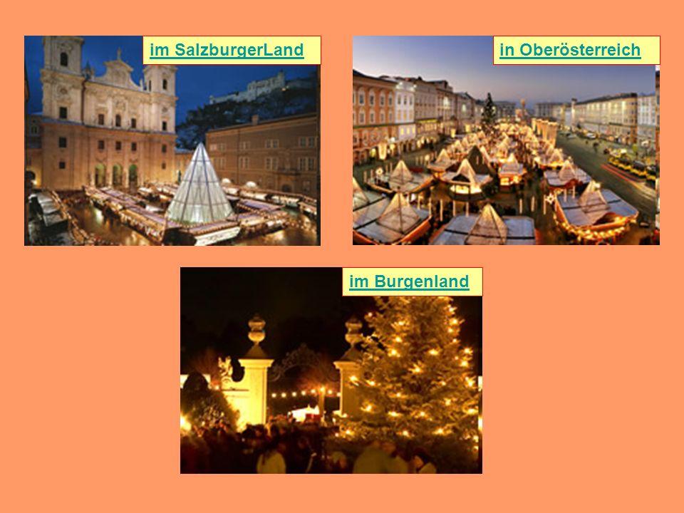 im SalzburgerLandin Oberösterreich im Burgenland