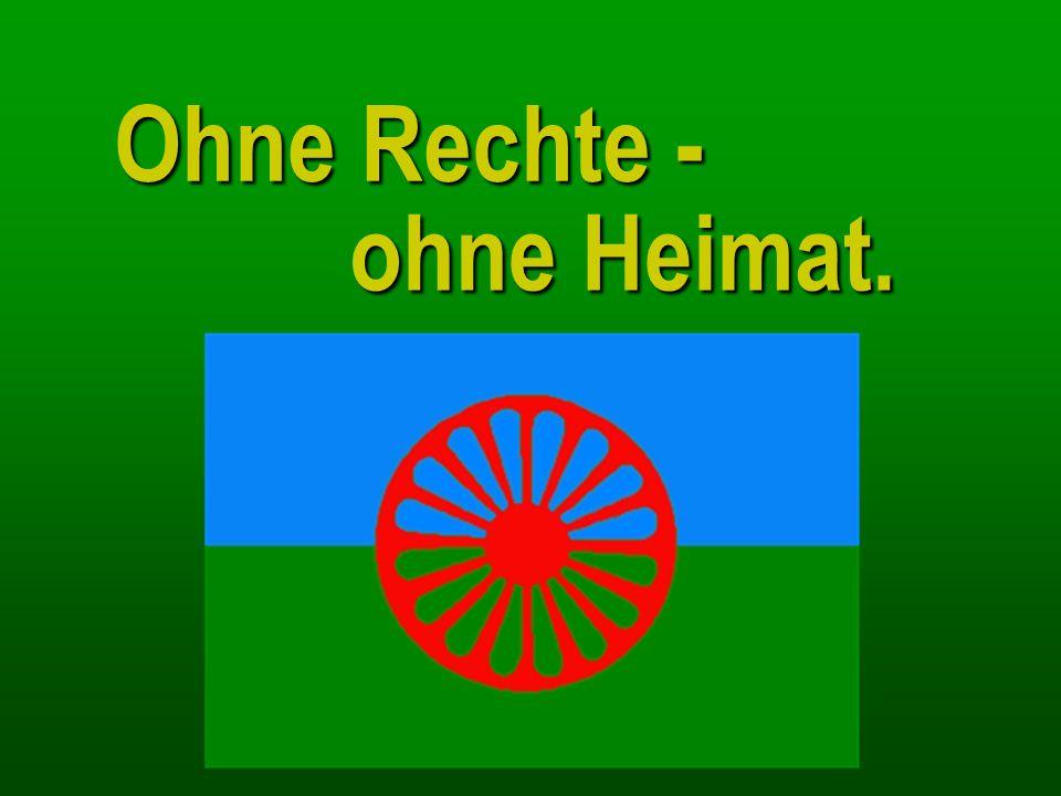 Minderheitenrechte für Roma Das Institut fügt hinzu, dass für nahezu die Hälfte der in Deutschland lebenden Roma schon die fehlende Staatsangehörigkeit den Zugang zu Minderheitenrechten verhindert.