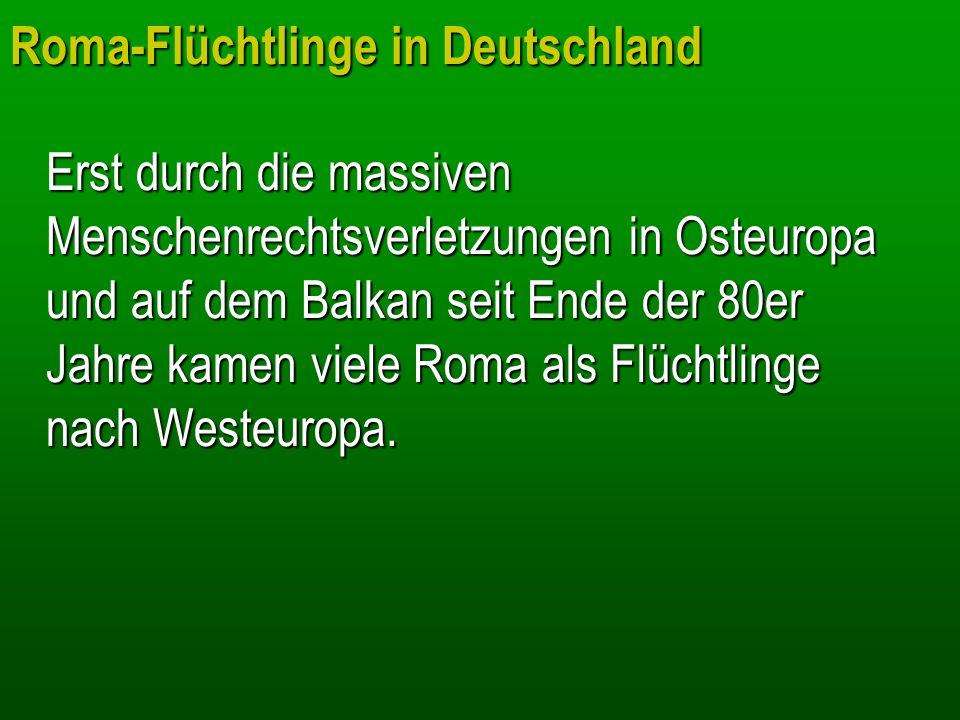 Mit Beginn des Krieges setzten die Massenvernichtungsaktionen gegen Juden und Sinti und Roma ein: Ab Mai 1940 wurden 30.000 in Deutschland lebende Zigeuner deportiert.