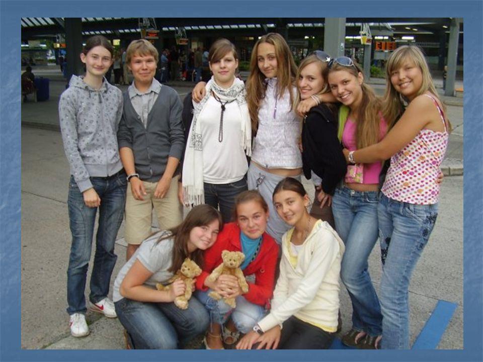 «GASTSCHÜLER IN DEUTSCHLAND» - 2008 Alexandra Scharaschkina – Gastfamilie Hahn Sachsen – Horka
