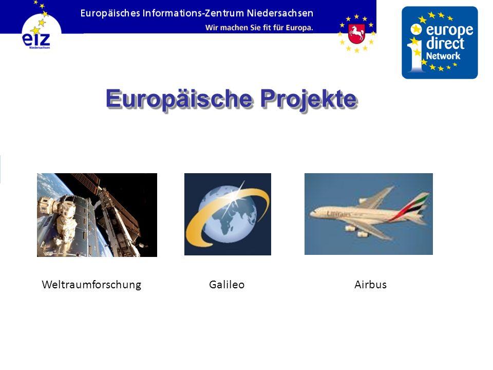 Europäische Projekte WeltraumforschungGalileoAirbus