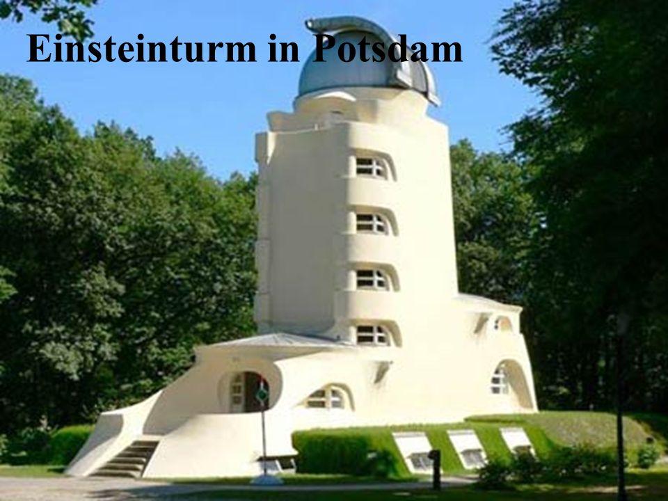 Einsteinturm in Potsdam
