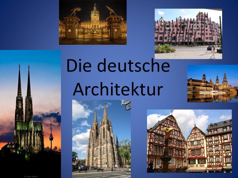 Römische Bäder, mittelalterliche Klöster, gotische Kathedralen, barocke Residenzen, Meisterwerke der modernen Architektur.