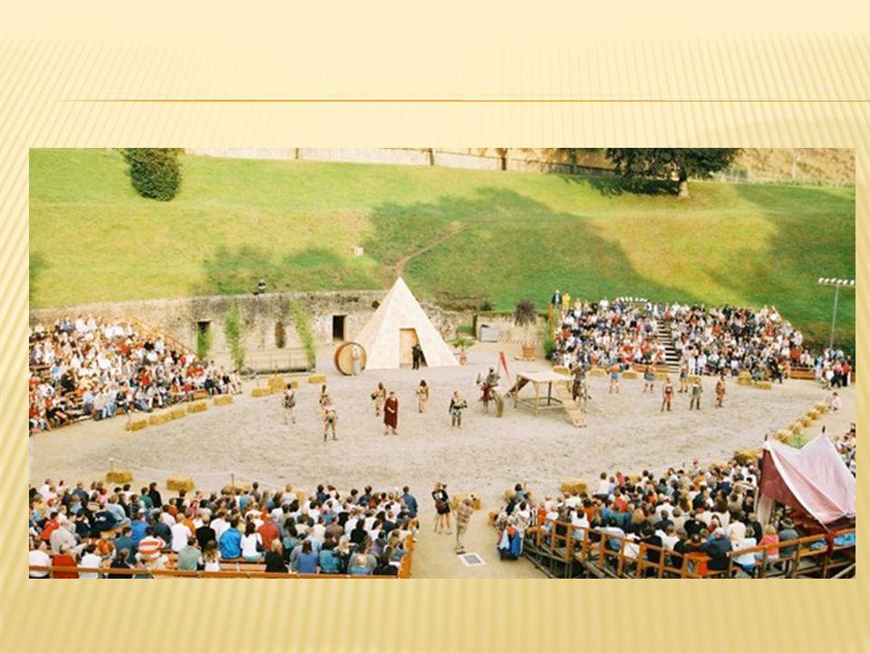 Römerlager: In den Kaiserthermen werden alle denkbaren Facetten der militärischen und zivilen römischen Gesellschaft gezeigt.