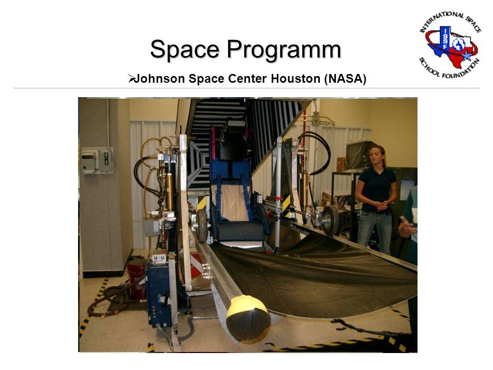 Space Programm Space Center Houston