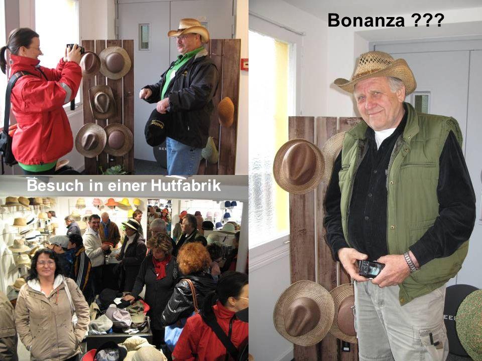 Besuch in einer Hutfabrik Bonanza
