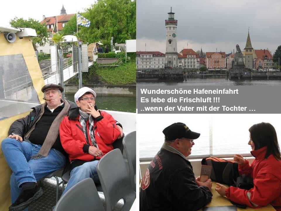 Wunderschöne Hafeneinfahrt Es lebe die Frischluft !!!..wenn der Vater mit der Tochter …