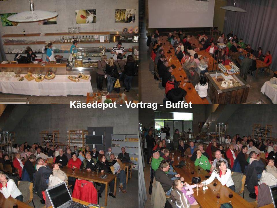 Käsedepot - Vortrag - Buffet