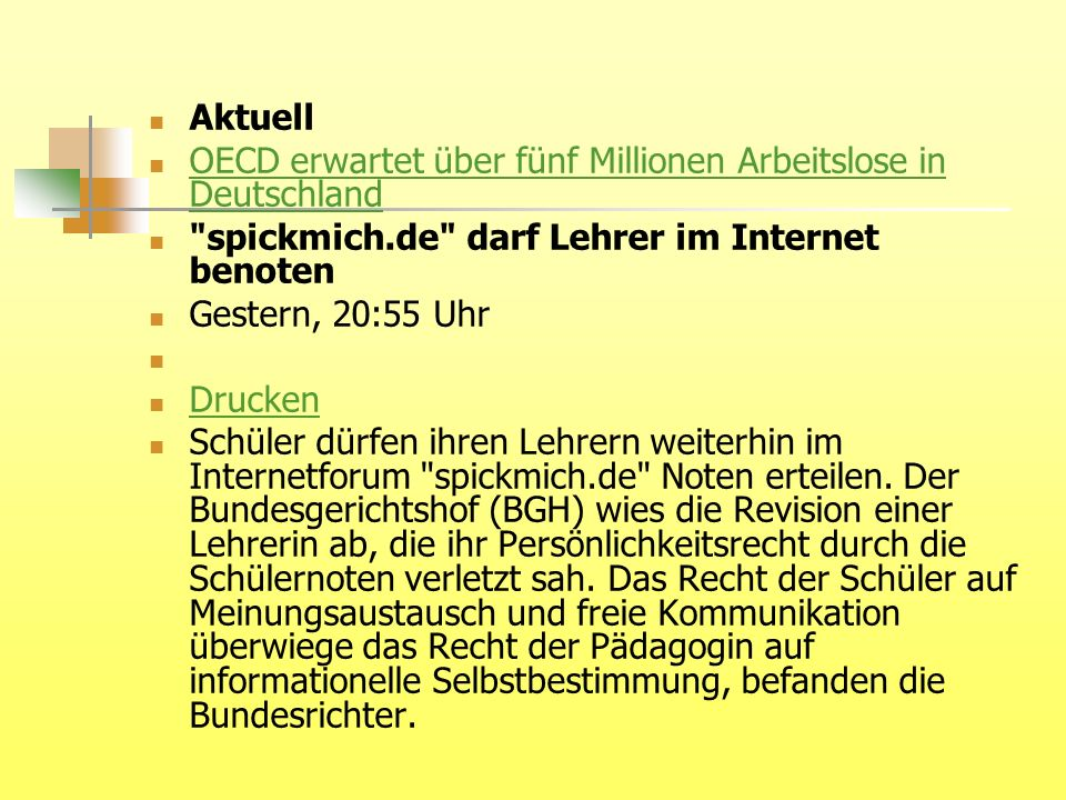 Aktuell OECD erwartet über fünf Millionen Arbeitslose in Deutschland OECD erwartet über fünf Millionen Arbeitslose in Deutschland