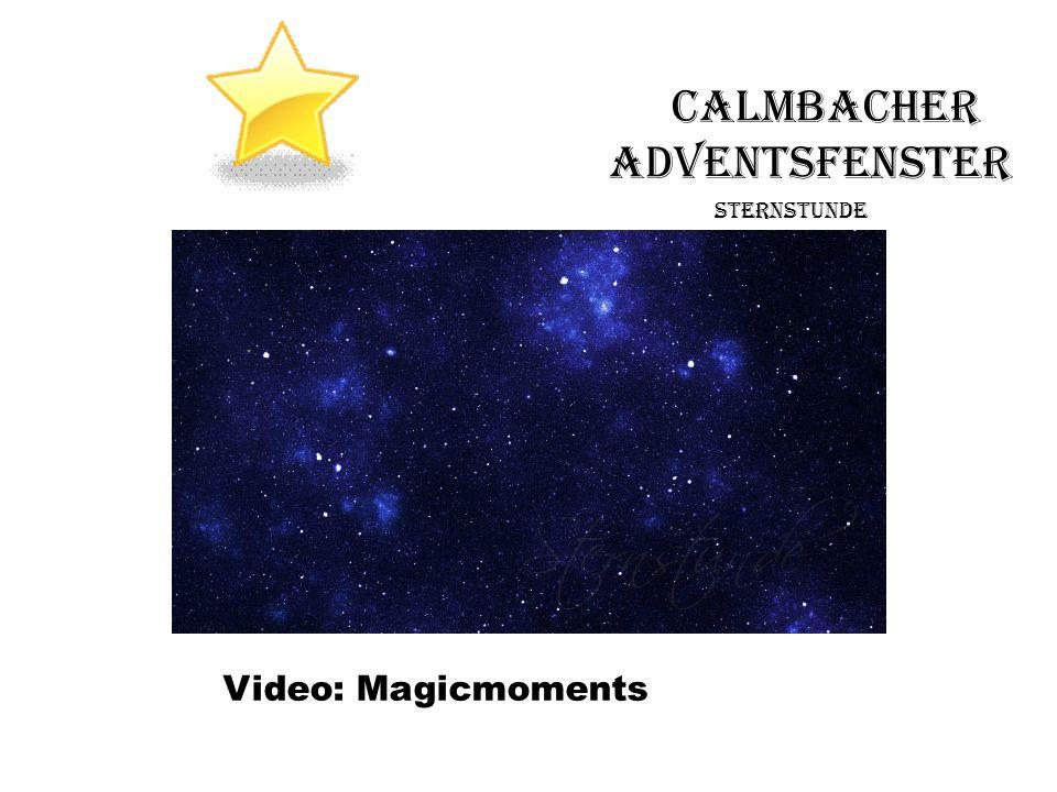 Video Sternstunde Gottes