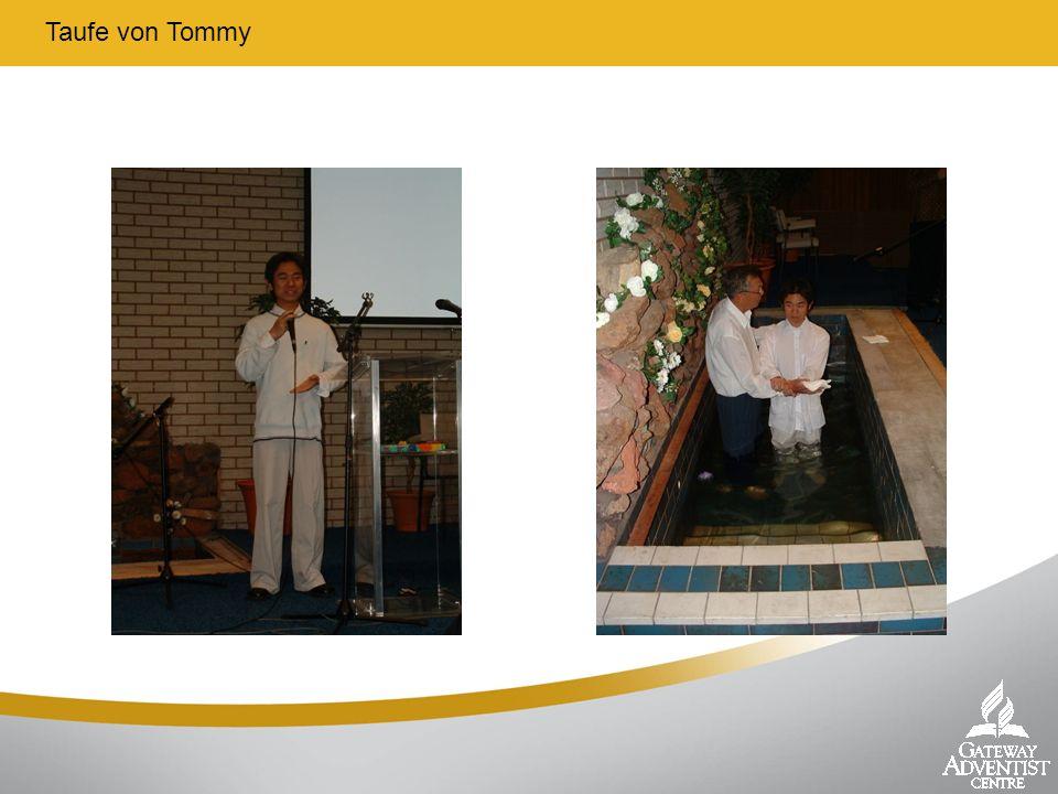 Taufe von Tommy