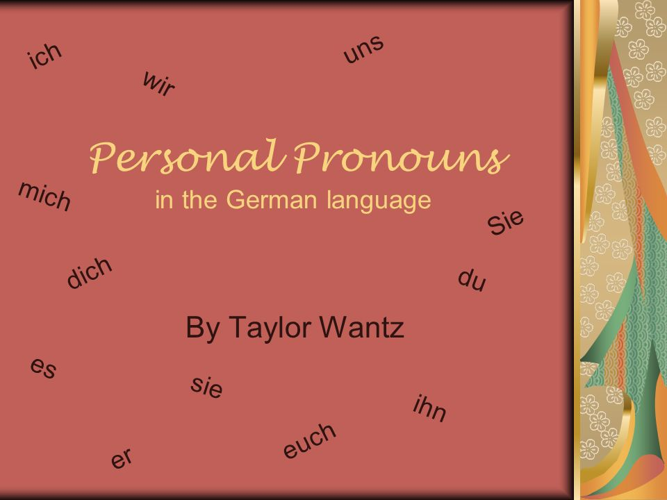 When do you use Personal Pronouns.Personal pronouns are used to replace any noun in a sentence.