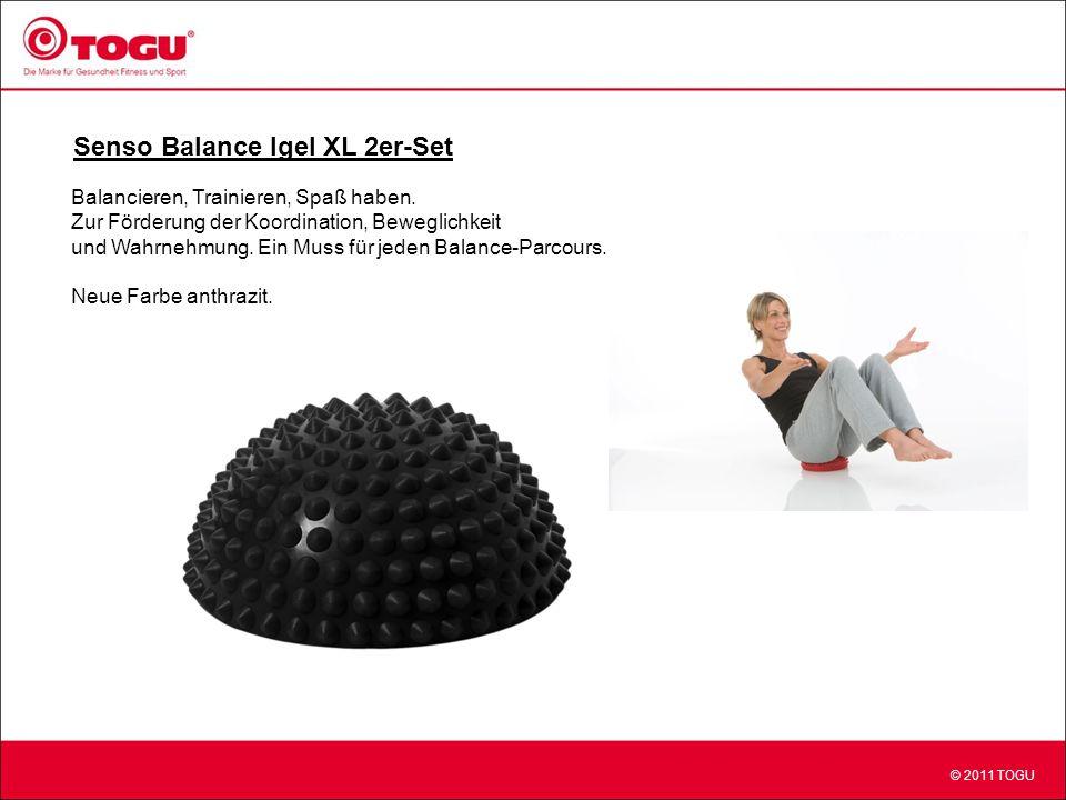 © 2011 TOGU Senso Balance Igel XL 2er-Set Balancieren, Trainieren, Spaß haben.