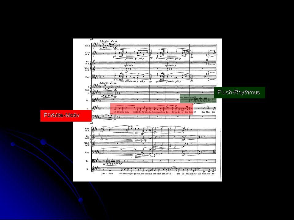 Fluch-Rhythmus Fürbitte-Motiv
