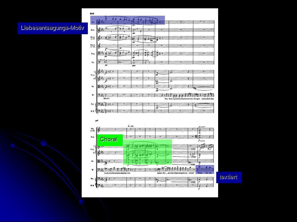 Choral Liebesentsagungs-Motiv textiert