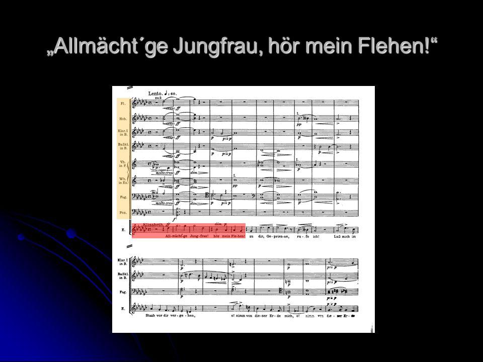 Allmächt´ge Jungfrau, hör mein Flehen!