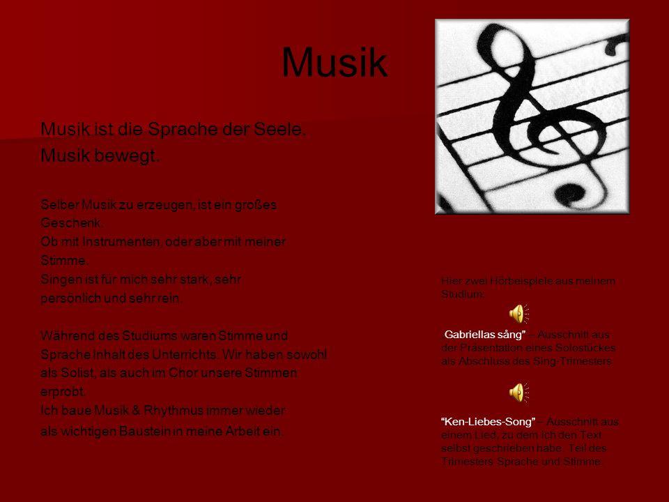 Musik Musik ist die Sprache der Seele.Musik bewegt.
