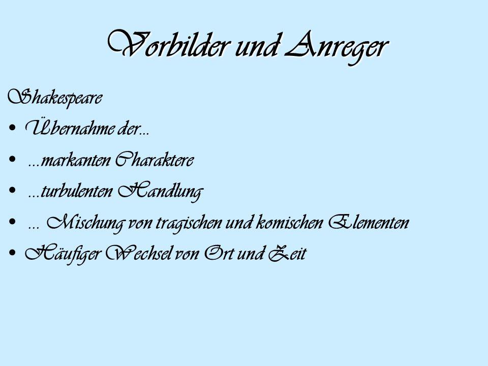 Machte auf die Volksdichtung aufmerksam und verdrängte damit das Ideal der antiken Kunst Friedrich Gottlieb Klopstock (1724- 1803) Gefühlsbetonte und religiöse Werke ( der Messias, 1748) Idol des Sturm und Drang