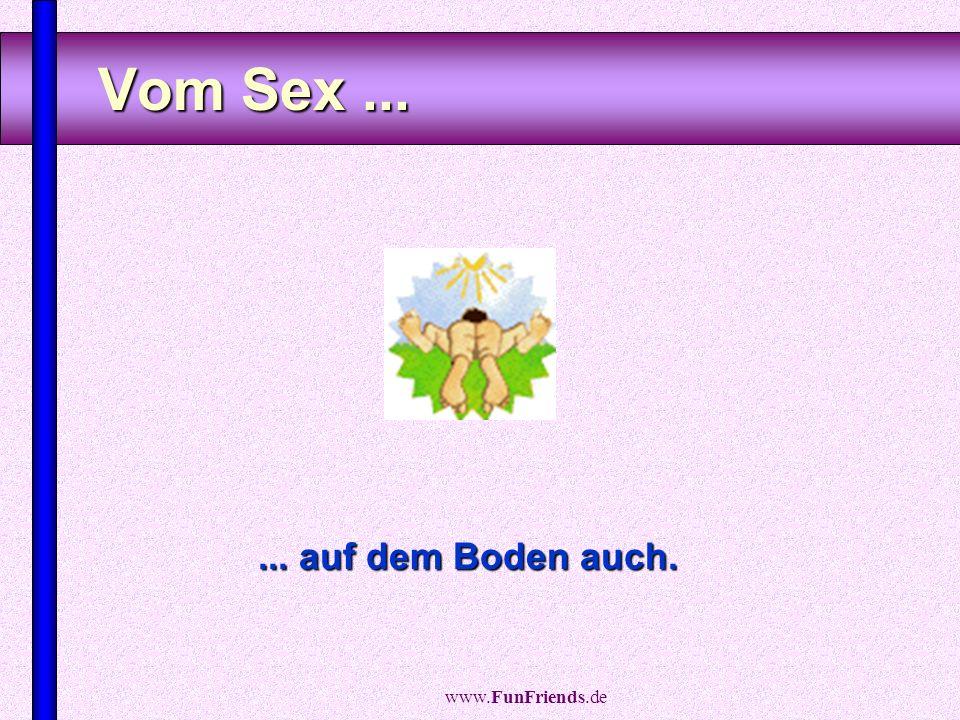 www.FunFriends.de Vom Schlafen auf der Couch...... bekommst Du Rückenschmerzen.