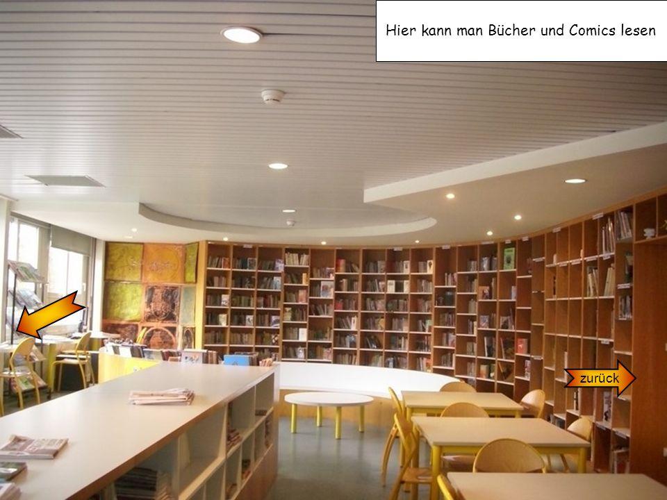 zurück Hier kann man Bücher und Comics lesen