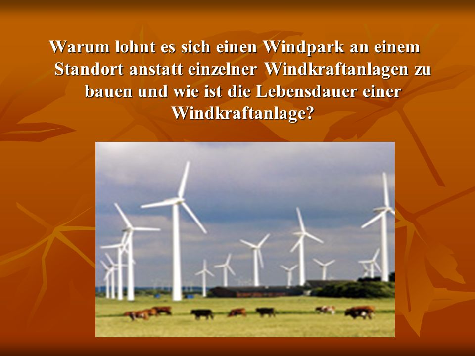 Wie erzeugt man der Strom in den Windkraftanlagen?