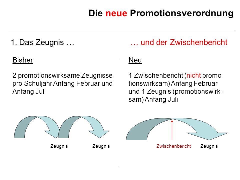 Die neue Promotionsverordnung 1.