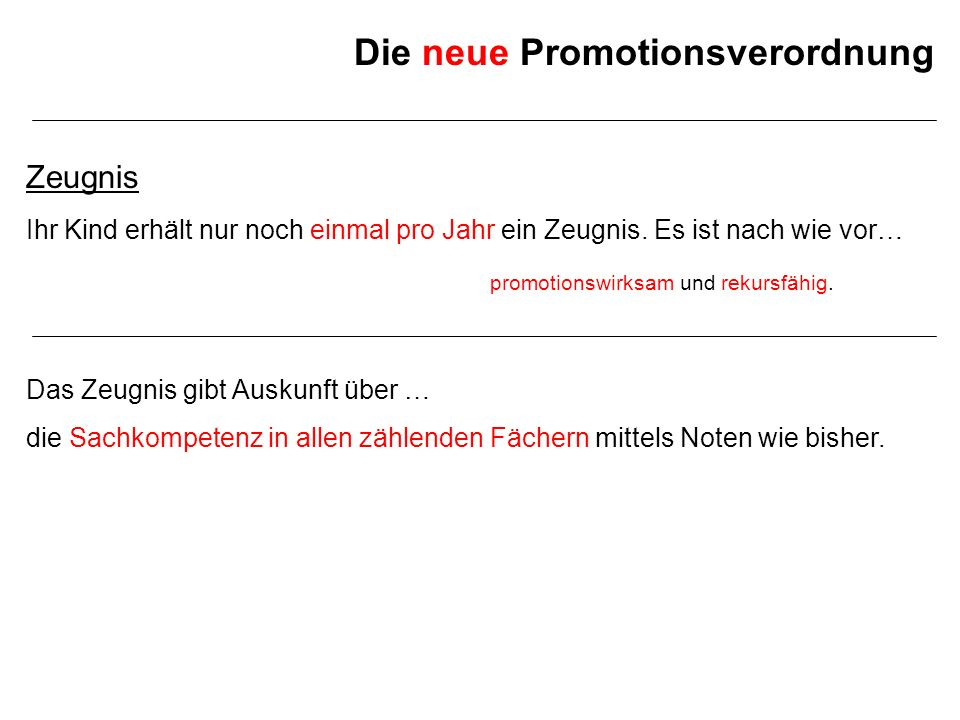 Die neue Promotionsverordnung Zeugnis Beispiel