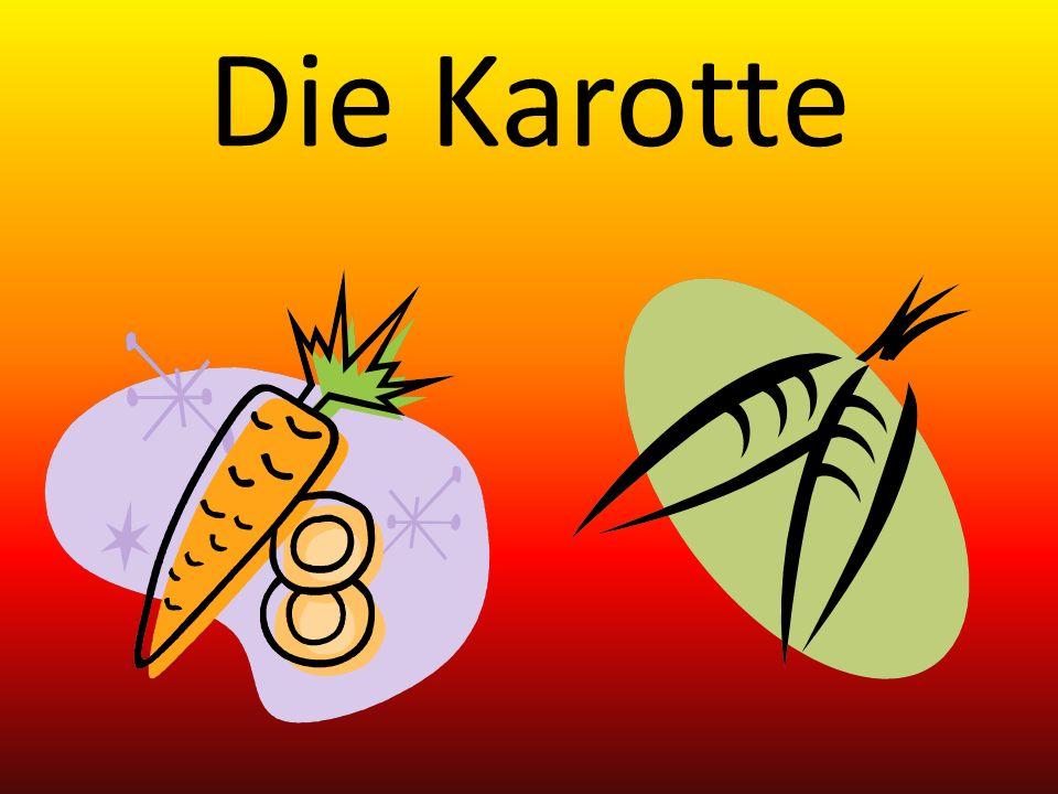 Die Karotte