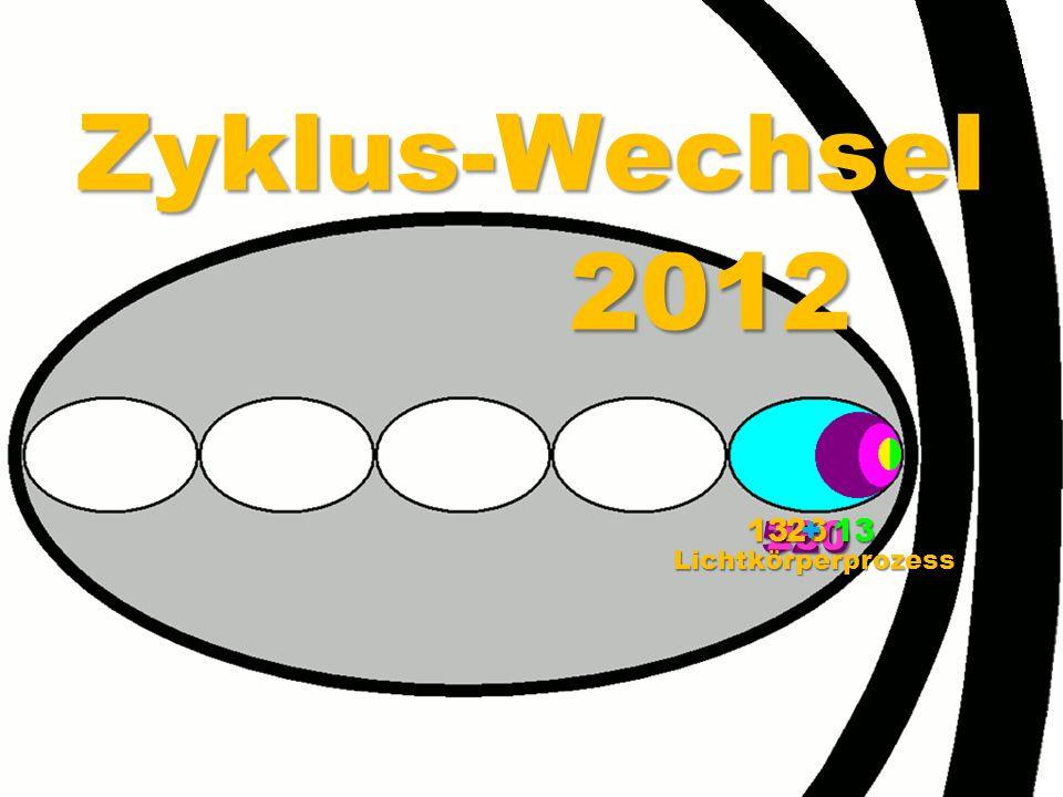 Zyklus-Wechsel 2012 52026026 13 + 13 Lichtkörperprozess