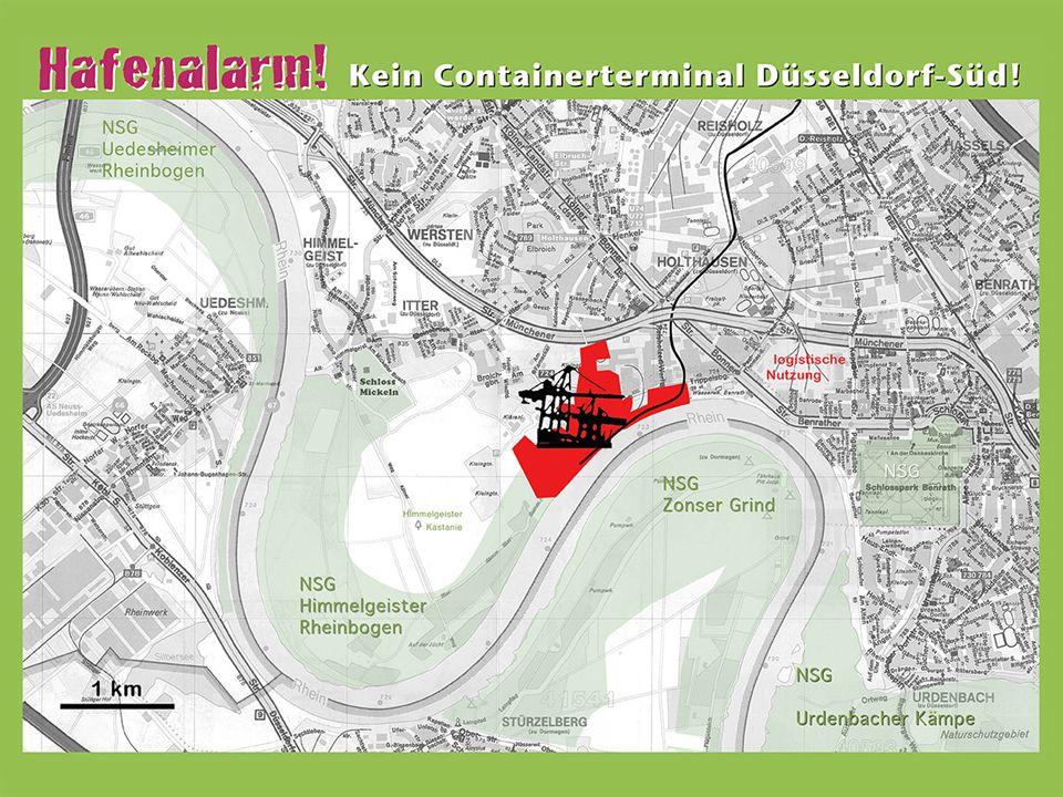 Hafenplanung Reisholzer Hafen Überblick über das Projekt 18.05.2014 Bürgerinitiative Reisholzer Hafen 4 Hafen
