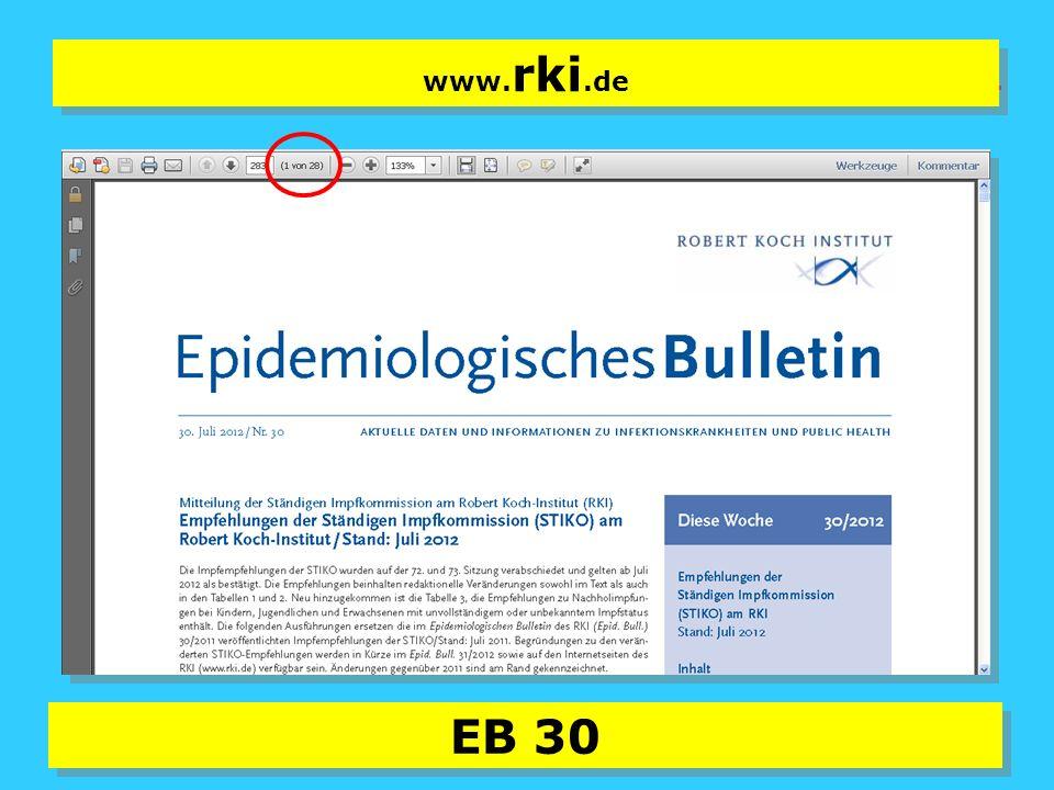 14 EB 30 www. rki.de