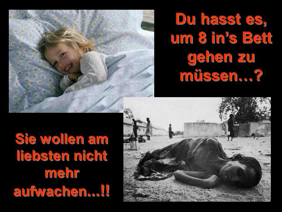 Du hasst es, um 8 ins Bett gehen zu müssen…? Sie wollen am liebsten nicht mehr aufwachen...!!