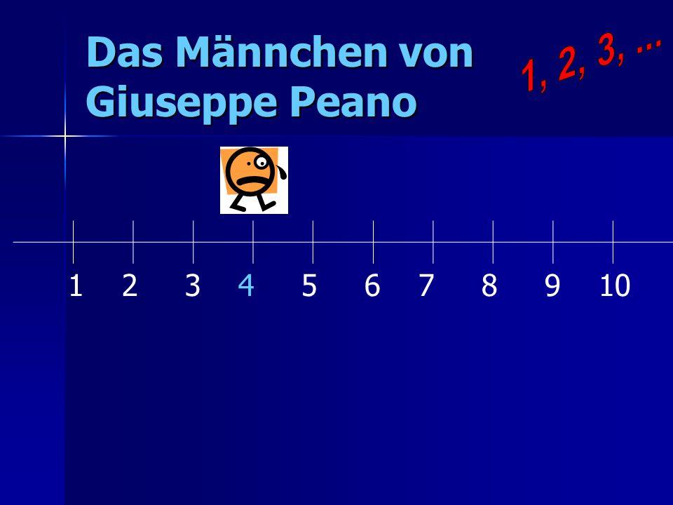 Das Männchen von Giuseppe Peano 1 2 3 4 5 6 7 8 9 10