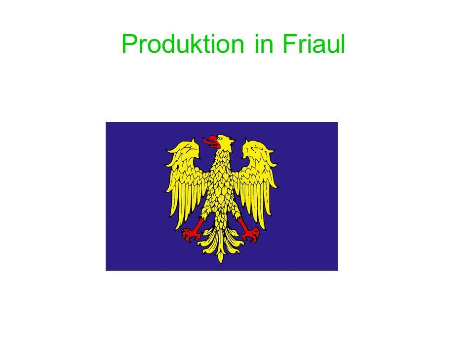 Industriebezirke In den friaulischen Industriebezirken befinden sich viele weltberühmte Firmen.